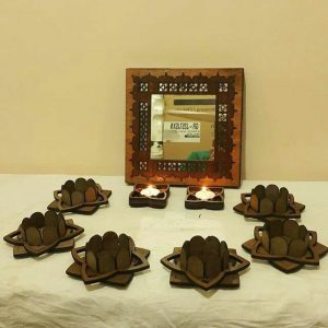هفت سین آینه طلایی