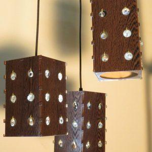 لوستر چوبی سقفی