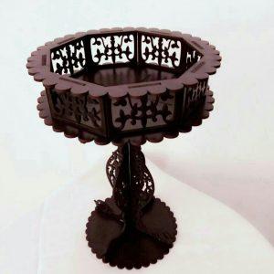 شکلات خوری پایه دار