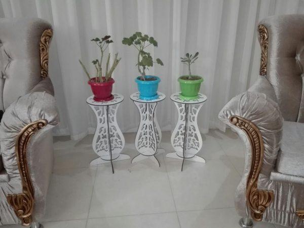 میز پایه گلدان
