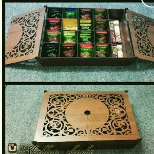 جعبه چایی کیسه ای و دم نوش