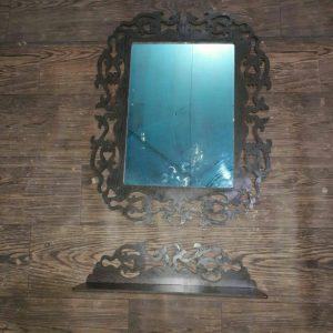 آینه و کنسول مستطیل