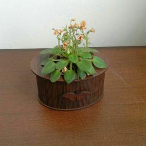 باکس گلدان گرد