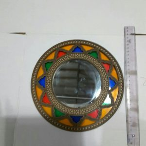قاب آینه گرد سنتی سایز کوچک