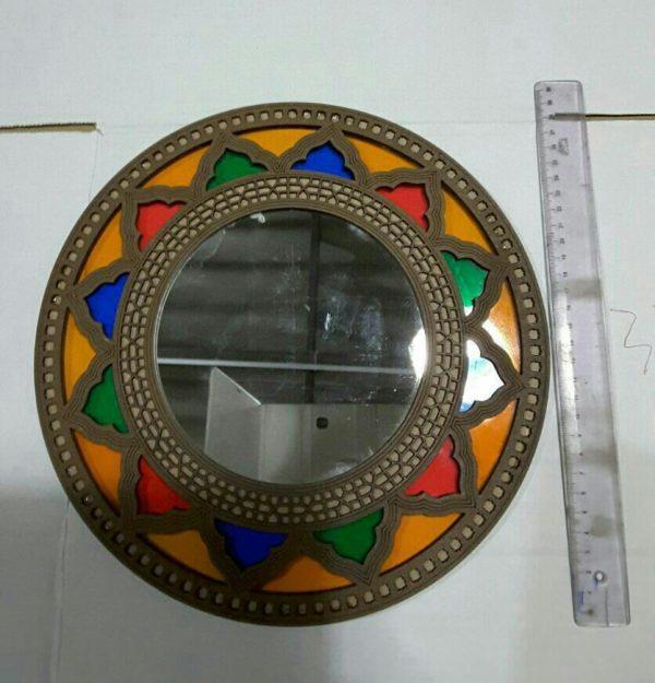 قاب آینه گرد سنتی سایز متوسط