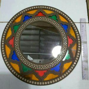 آینه گرد سنتی سایز بزرگ