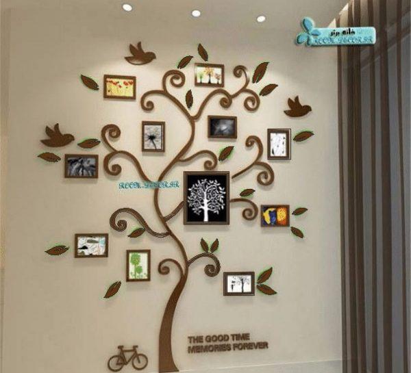 استیکر درخت قاب عکس