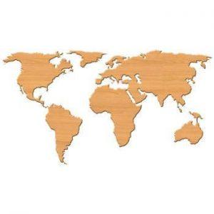 استیکر نقشه جهان