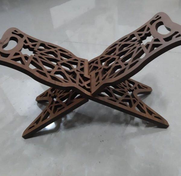 رحل قرآن چوبی