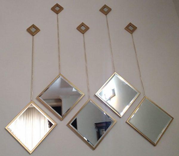 آینه دکوراتیو مربعی