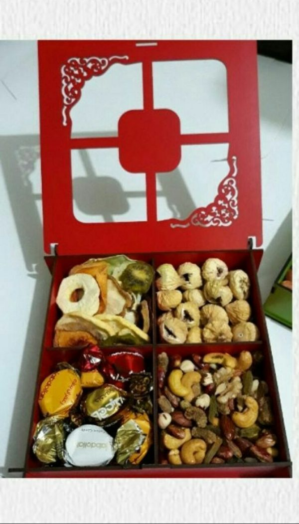 جعبه آجیل لیزری