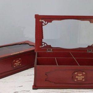 جعبه چای و دم نوش