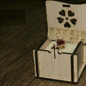 جعبه انگشتری