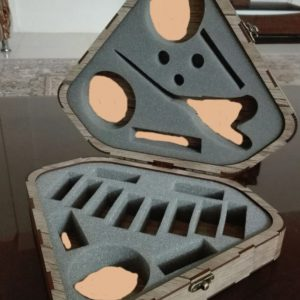 جعبه خیاطی طرح الماس
