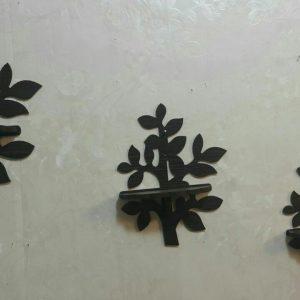 شلف دیواری سه تیکه درخت