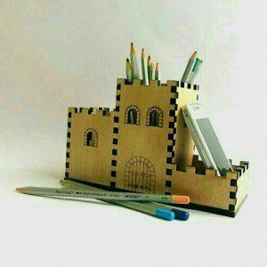 جامدادی طرح قلعه