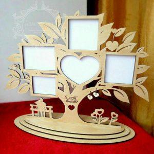 قاب عکس رومیزی طرح درخت