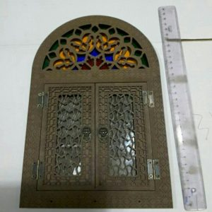 جاکلیدی دولت آینه سنتی سایز کوچک