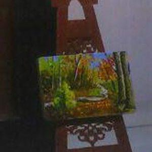قاب عکس منظره با پایه رومیزی