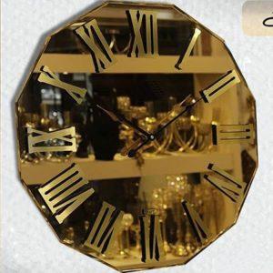 ساعت دیواری آینه ای خورشیدی